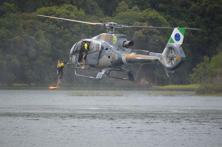 helicóptero do BPMOA