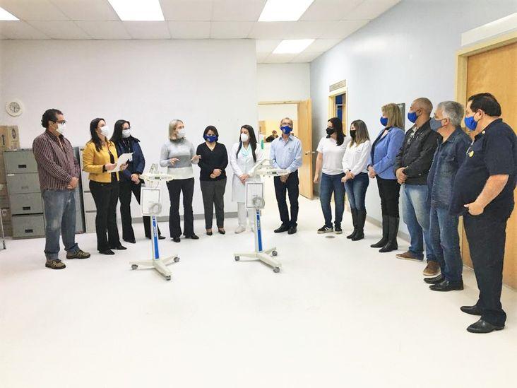 HRNP Recebe a doação de equipamentos