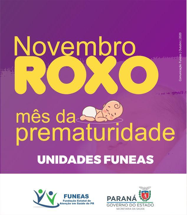 Mês da prematuridade Funeas