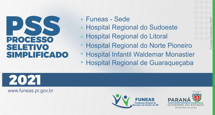 Funeas PSS 2021
