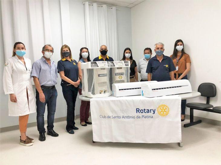 HRNP recebe doação do Rotary Club