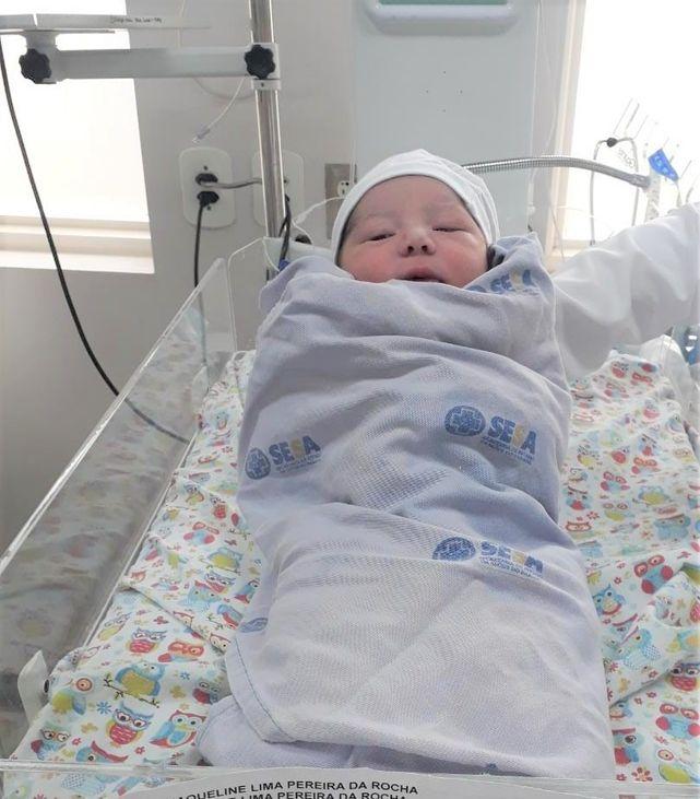 HRNP registra nascimento do primeiro bebe do ano de 2021