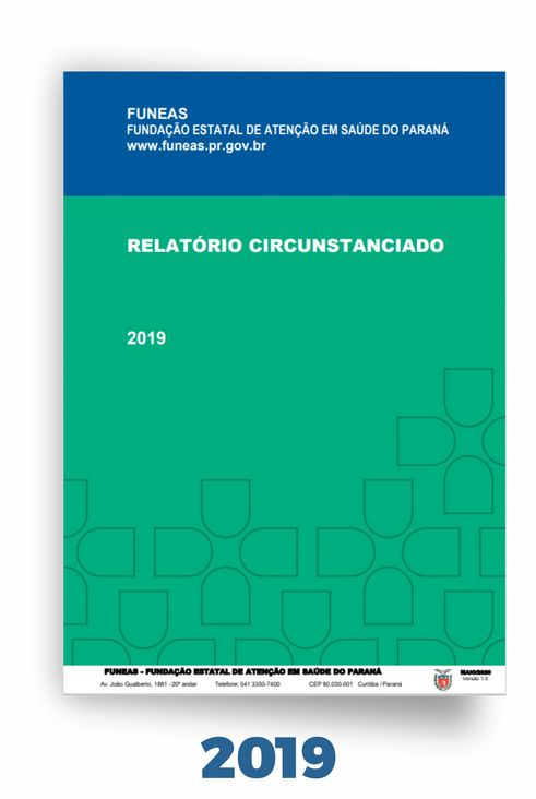 Relatório Circunstanciado Funeas 2019