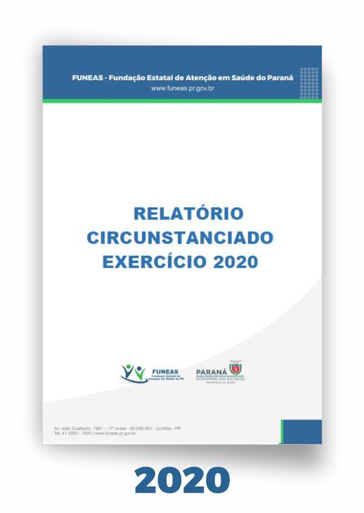Relatório Circunstanciado Funeas 2020